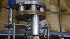 Transportband van de voedsel de fabriek geautomatiseerde machine stock videobeelden