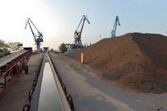 Transportband voor mineraal Royalty-vrije Stock Fotografie