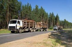 Transportbauholz Lizenzfreies Stockfoto