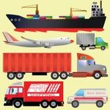 Transportbild Lizenzfreie Abbildung