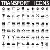 Transporte ícones Fotos de Stock