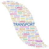 TRANSPORTE. Imagen de archivo libre de regalías