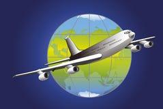 Transporte aéreo stock de ilustración
