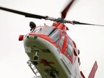 Transporte aéreo del helicóptero del rescate Eslovaquia Imagenes de archivo