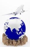Transporte aéreo en Asia Fotografía de archivo libre de regalías
