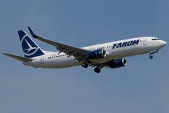 Transporte aéreo romeno de Tarom Fotos de Stock
