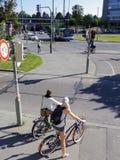 Transporte alternativo urbano Fotografia de Stock Royalty Free