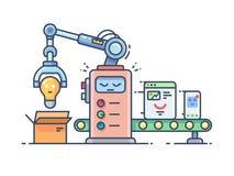 Transporte automático da Web ilustração stock