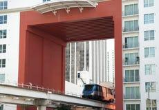 Transporte céntrico de Miami Fotografía de archivo libre de regalías