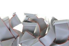 Cabos do computador do ônibus Foto de Stock