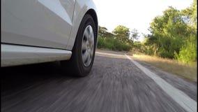 Transporte con el coche almacen de video