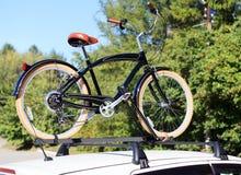 Transporte da bicicleta Foto de Stock