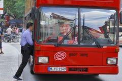 Transporte da cidade Fotografia de Stock Royalty Free
