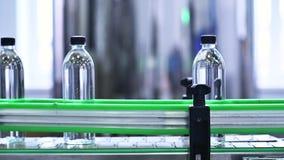 Transporte da fábrica da água filme
