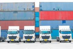 Transporte da logística Foto de Stock