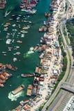 Transporte da terra e do mar Fotos de Stock