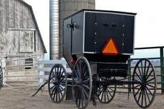 Transporte de Amish Foto de archivo
