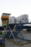 Transporte de ar Foto de Stock Royalty Free