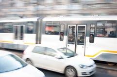 Transporte de Bucarest imagen de archivo libre de regalías