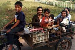 Transporte de Canbodian Fotos de archivo libres de regalías