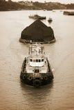 Transporte de carbón Imagenes de archivo