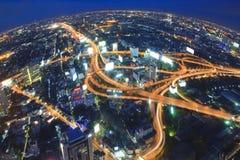Transporte de Ciudad-Bangkok Fotografía de archivo libre de regalías
