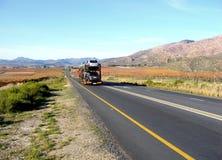 Transporte de estrada nacional foto de stock
