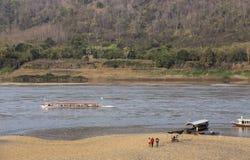 Transporte de Hong River foto de archivo