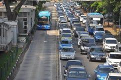 Transporte de Jakarta Imagens de Stock