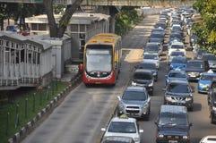 Transporte de Jakarta Foto de Stock Royalty Free