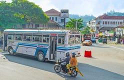 Transporte de Kandy Fotografia de Stock
