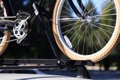 Transporte de la bici Fotografía de archivo libre de regalías