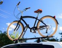 Transporte de la bici Foto de archivo libre de regalías