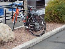 Transporte de la bici sano Fotos de archivo libres de regalías