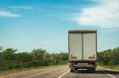 Transporte de la carga imágenes de archivo libres de regalías