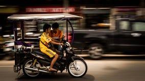 Transporte de la ciudad de Krabi Fotos de archivo libres de regalías