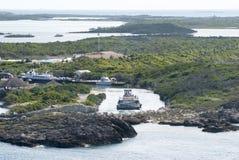 Transporte de la isla caribeña Fotografía de archivo