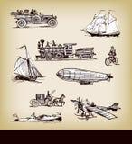Transporte de la vendimia del vector Foto de archivo libre de regalías