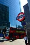 Transporte de Londres Imágenes de archivo libres de regalías