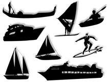 Transporte de mar Imagem de Stock Royalty Free