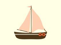 Transporte de mar do iate da navigação Fotos de Stock