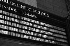 Transporte de New York City Imagem de Stock