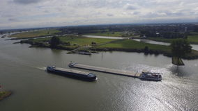 Transporte de río imagen de archivo
