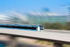 Transporte de trilhos da cidade Fotos de Stock