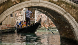 Transporte de Venecia Imagen de archivo libre de regalías
