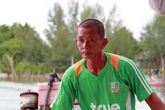 Transporte del barco en Tailandia Fotografía de archivo