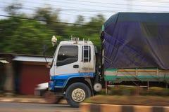 Transporte del cargo del carro Foto de archivo