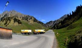 Transporte del combustible Imágenes de archivo libres de regalías