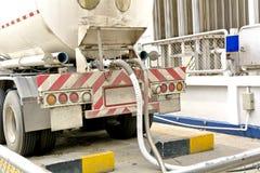 Transporte del gas Fotos de archivo