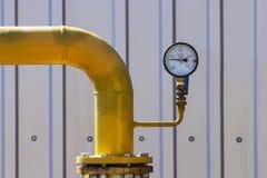 Transporte del gas natural Imagen de archivo